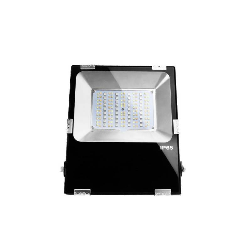 Barcelona LED Projecteur LED RGB + CCT 50W IP65 Contrôle RF et WIFI via application mobile - Barcelona LED