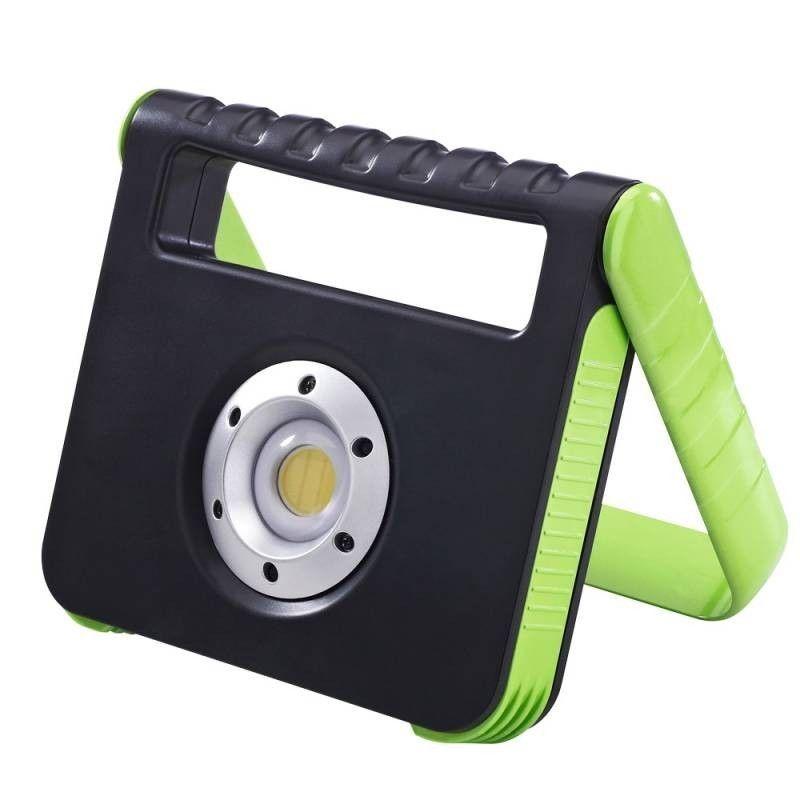 Barcelona LED Projecteur LED15W IP54 rechargeable + Power bank USB - Barcelona LED