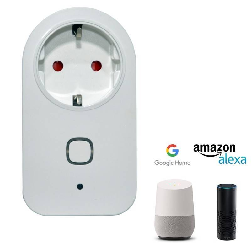 Barcelona LED Prise intelligente WiFi – Google Home / ALEXA - Barcelona LED