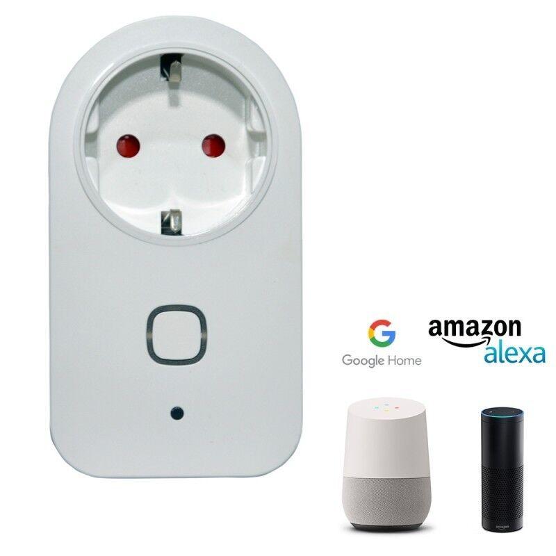 Barcelona LED Prise intelligente WiFi – Google Home / ALEXA - Contrôle SMART WIFI / GOOGLE HOME / ALEXA