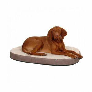 Kerbl Matelas pour chien à mémoire de forme ovale Kerbl Taille L - Publicité