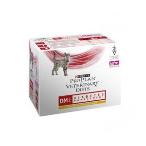 Proplan Boîtes Pro Plan Veterinary Diet DM St/Ox Diabetes Management pour chats Poulet 10 sachets 85 g - Publicité