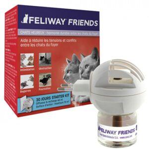 Feliway Diffuseur Feliway Friends phéromone pour chat + recharge 48 ml - Publicité