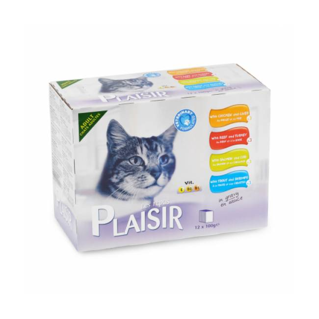 Equilibre & Instinct Éminces pour chat adulte Équilibre et Instinct 12 sachets de 100 g