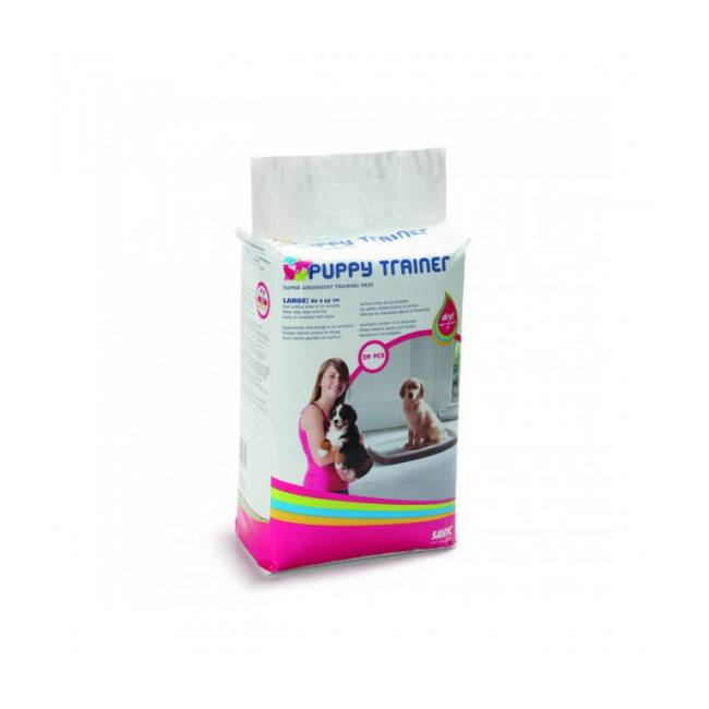 Savic Lot de 30 tapis absorbeur d'urine chiot Puppy Trainer Large