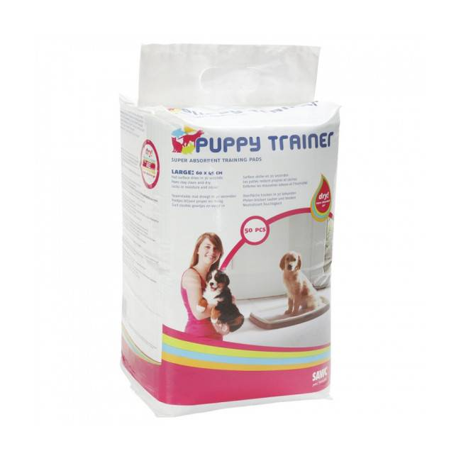 Savic Tapis d'éducation Puppy Trainer Large - Lot de 2 * 50 tapis