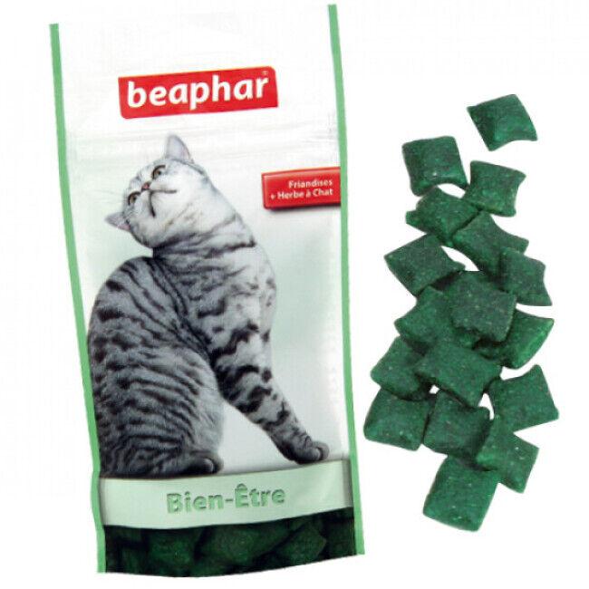 Beaphar Bien être friandises Catnip-bits pour chat