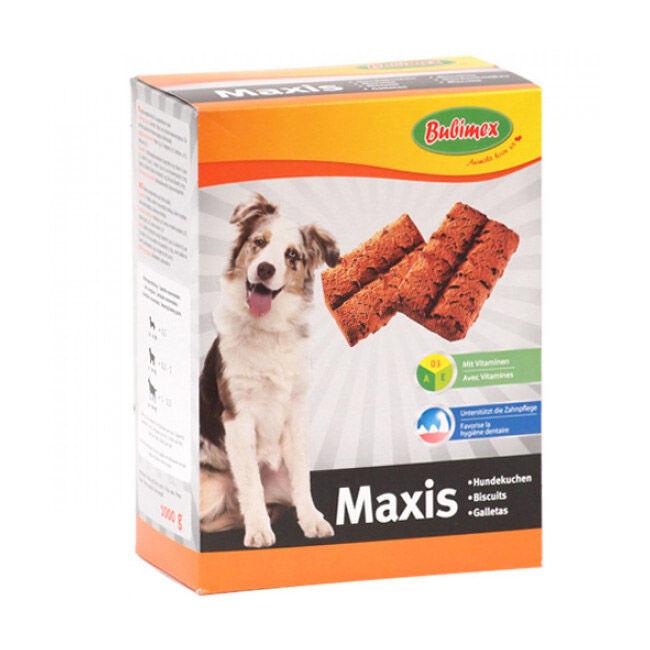 Bubimex Biscuits Maxis aux céréales pour chien bte 1kg (DLUO courte) (DLUO courte) (DLUO courte)