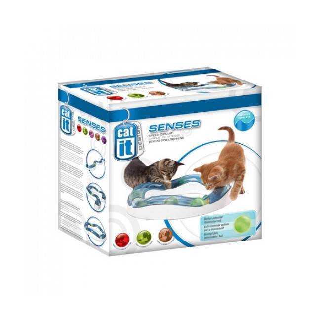 Cat'it Circuit de jeu CatIt pour chat Senses Speed