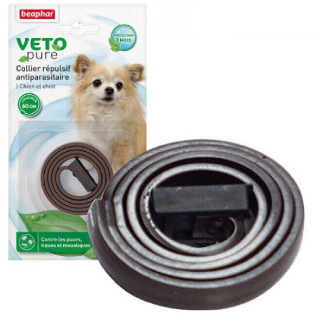 Beaphar Collier Véto Nature Beaphar insectifuge pour chien
