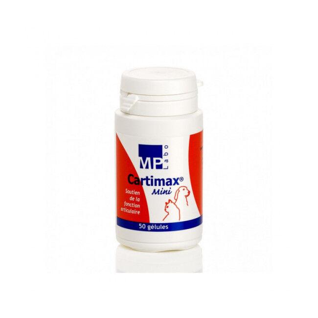 MP Labo Compléments alimentaires chiens et chats pour articulations Cartimax Mini - Pilulier 50 Gelules