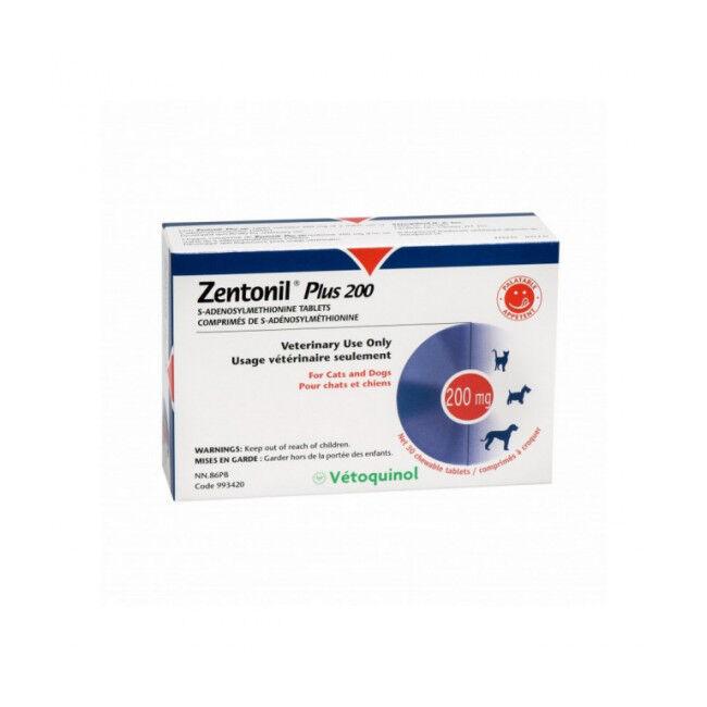 Zentonil Plus Compléments alimentaires troubles hépatiques Pour chiens et chats 200 mg (DLUO 3 mois)
