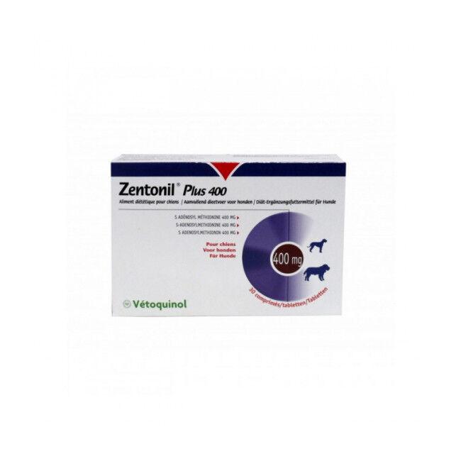 Zentonil Plus Compléments alimentaires troubles hépatiques Pour chiens 400 mg