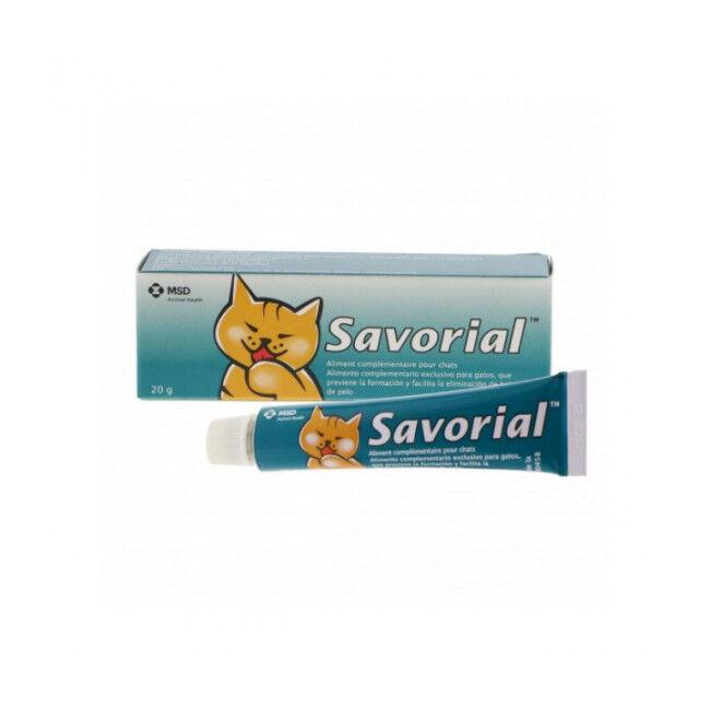 Savorial Complément alimentaire pour chat anti boules de poils Savorial