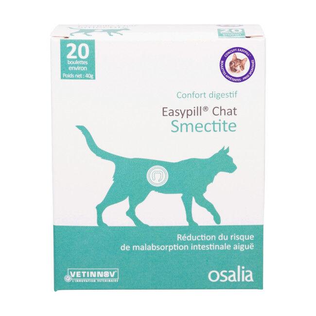 Osalia Complément alimentaire pour chat Easypill Smectite anti-diarrhée
