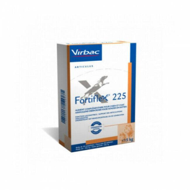 Virbac Complément alimentaire pour chien pour articulations Virbac Fortiflex  25 kg 525 NF Boîte 30 Comprimés