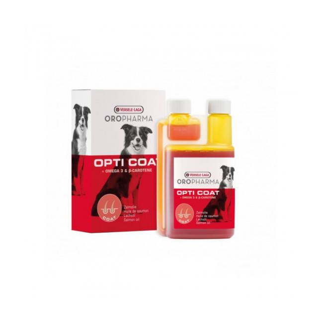 Versele Laga Complément alimentaire pour chien soins de la peau Oropharma Opti Coat
