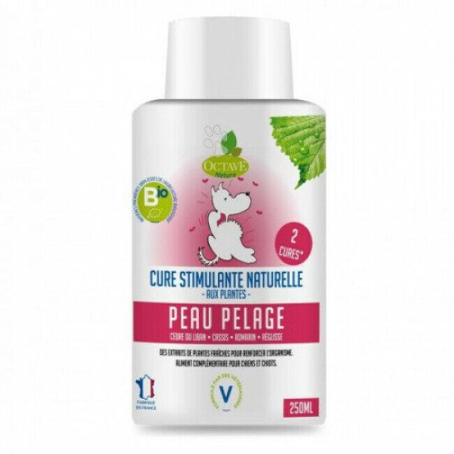 Octave Nature Complément alimentaire bio pour chien peau et pelage 250 ml (Fin de DLUO)