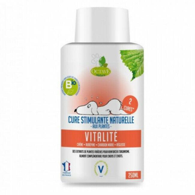 Octave Nature Complément alimentaire bio vitalité 250 ml (Fin de DLUO) (Fin de DLUO)