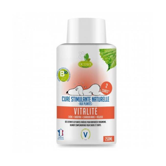 Octave Nature Complément alimentaire bio vitalité 250 ml (Fin de DLUO) (Fin de DLUO) (Fin de DLUO) (Fin de DLUO)