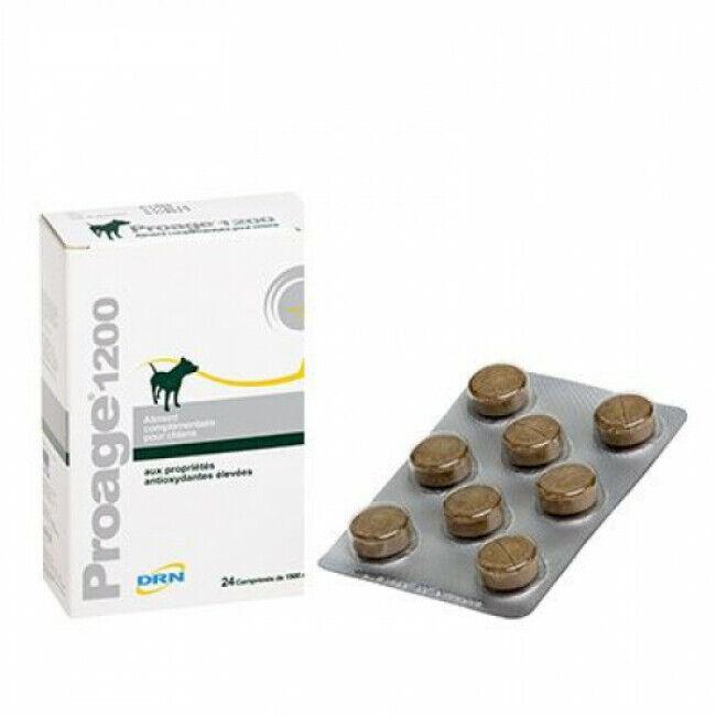 MP Labo Complément alimentaire antioxydant Proage 1200 pour chien âgé ou de travail