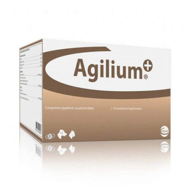 Ceva Complément alimentaire articulations pour chien Agilium + Ceva Boîte de 30 comprimés