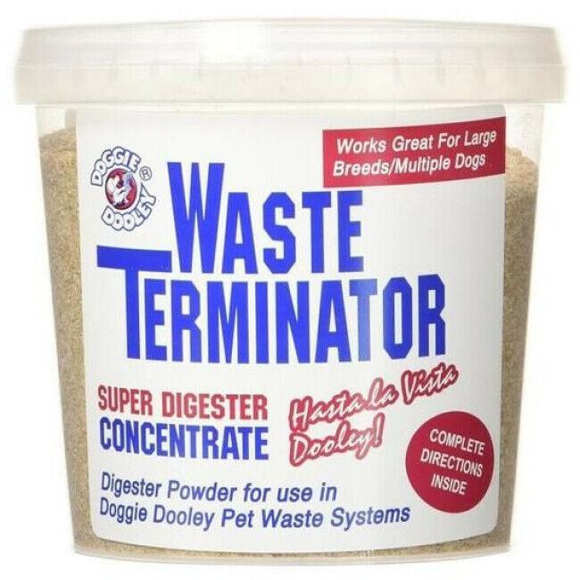 Doggie Dooley Poudre pour composteur de déjections animales Waste Terminator - durée 1 an