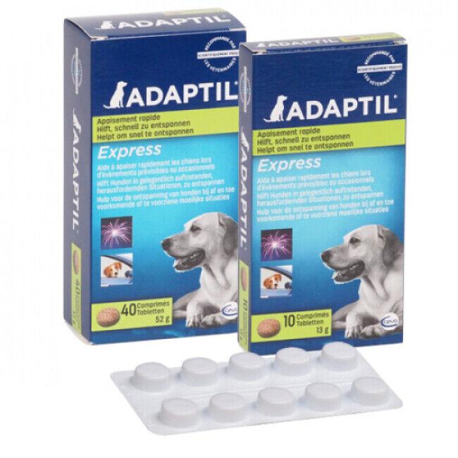 Ceva Comprimés Adaptil pour la réduction du stress chez le chien boite de 40 cps