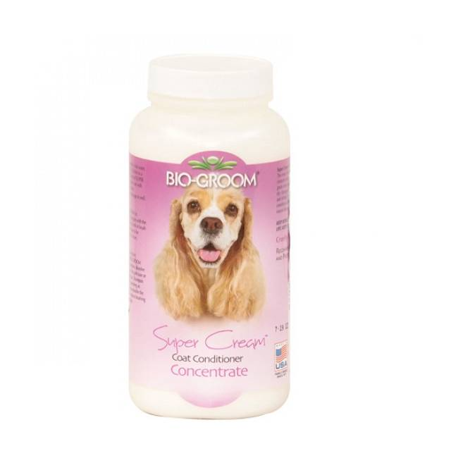 Bio Groom Conditionneur super cream pelage pour chien et chat