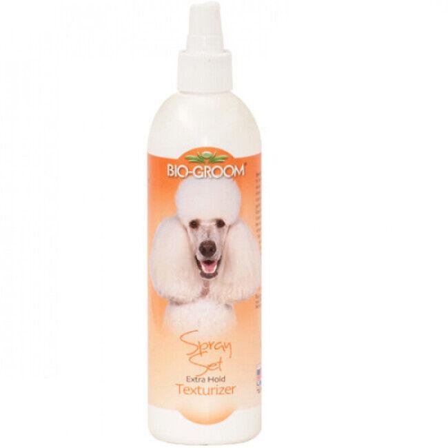 Bio Groom Conditionneur texturisant spray set pelage pour chien et chat