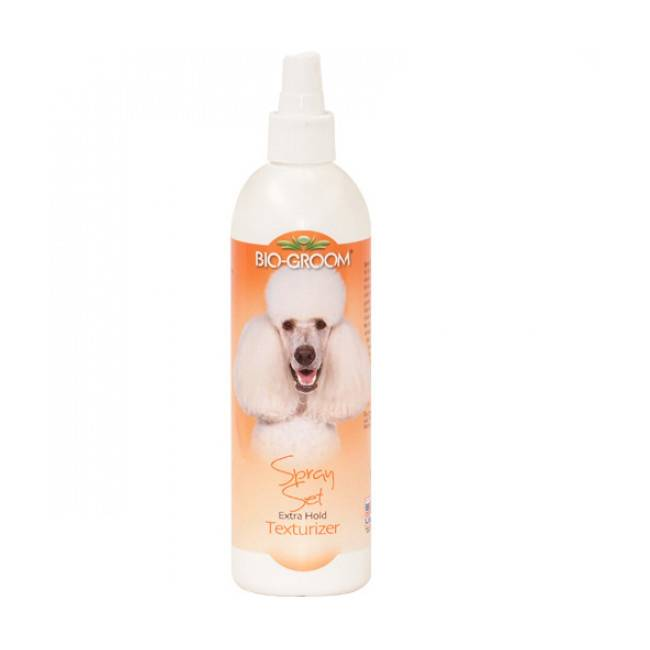 Bio Groom Conditionneur texturisant spray set pelage pour chien et chat (Fin de DLUO) (Fin de DLUO)