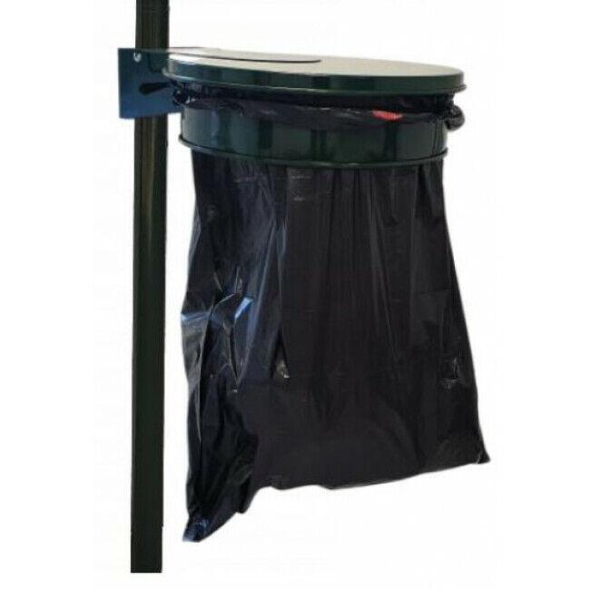 Animo Corbeille porte sac avec couvercle - 80 à 100 litres