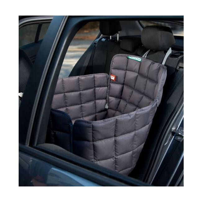 Doctor Bark Couverture pour chien protection voiture 1 place Doctor Bark grise Taille S