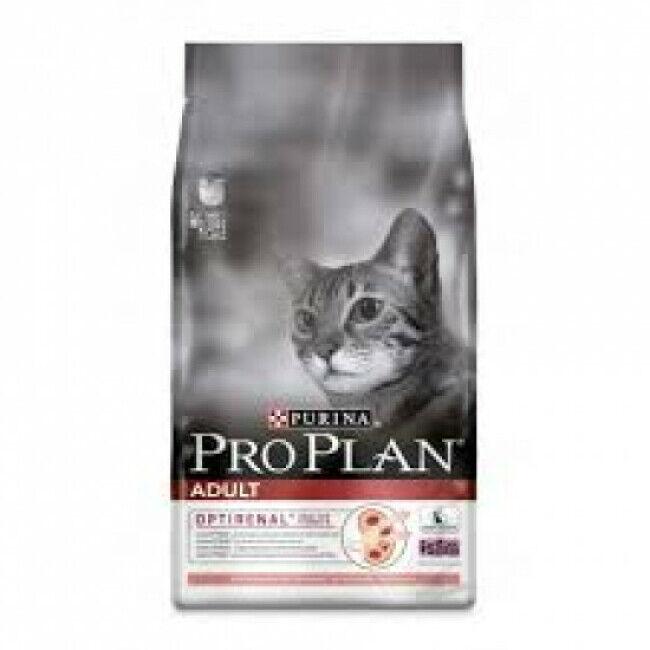 Proplan Croquettes pour chat adulte Pro Plan saumon et riz sac 1,5 kg