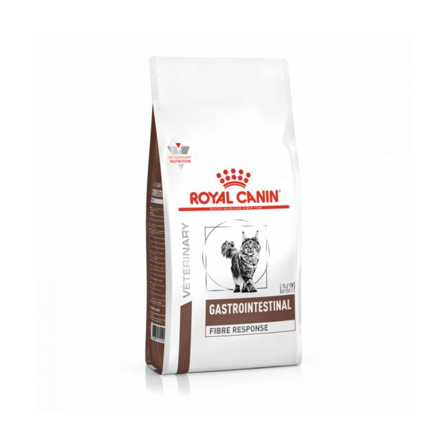 Royal Canin Croquettes pour chat Veterinary Diet Fibre Response Royal Canin Sac 2 kg