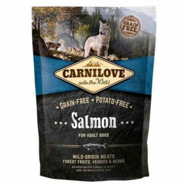 Carnilove Croquettes pour chien adulte Carnilove saumon Sac 1,5 kg
