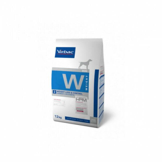 Virbac Croquettes pour chien Weight Loss & Control HPM Virbac Sac 12 kg