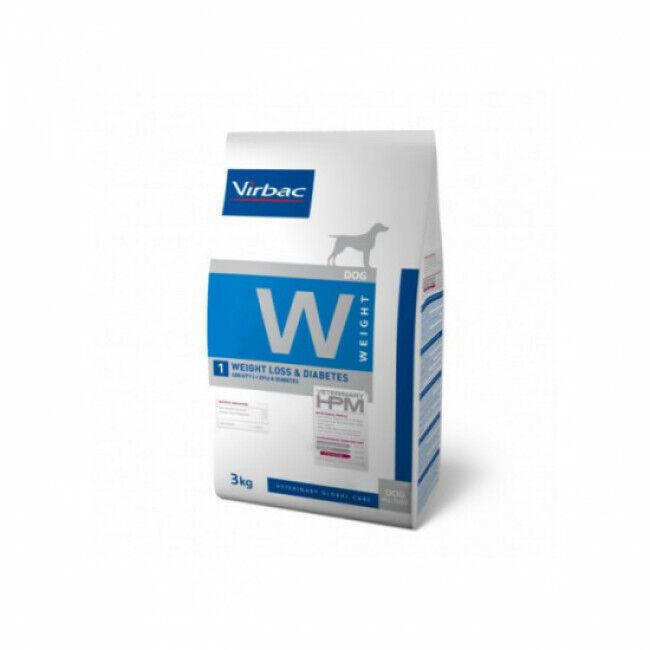 Virbac Croquettes pour chien Weight Loss & Diabetes Veterinary HPM Virbac Sac 3 kg