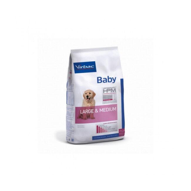 Virbac Croquettes Virbac HPM Baby Large & Medium pour chien Sac 7 kg
