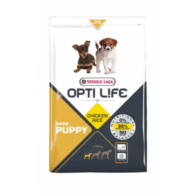 Opti-Life Croquettes pour chiot petite race Opti Life Sac 7,5 kg