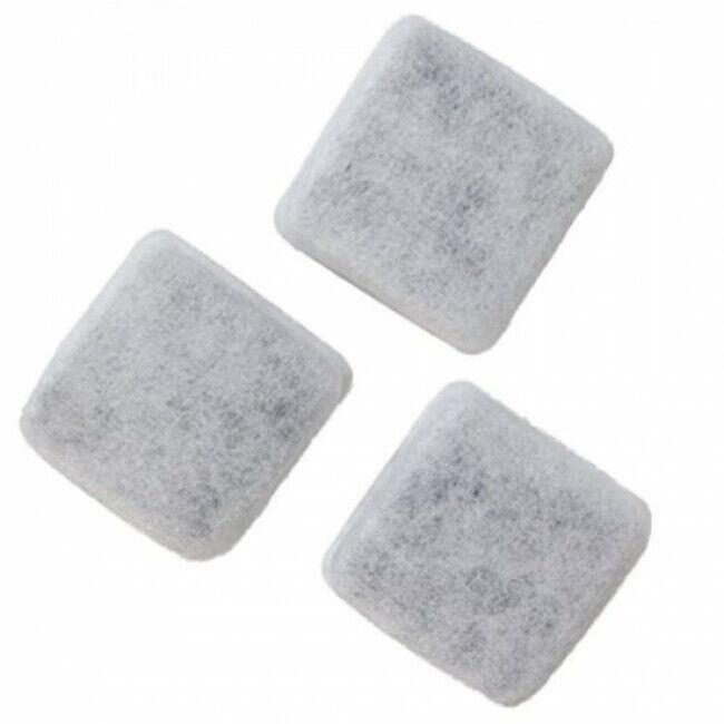 Petmate Lot de 3 filtres charbon pour distributeur d'eau