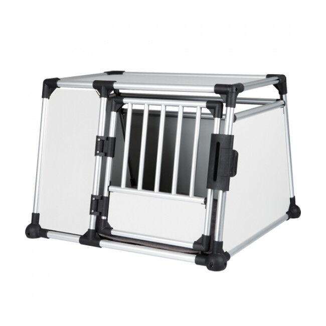 Trixie Cage de transport en voiture pour 1 ou 2 chiens Dog Box Autolux™ T360