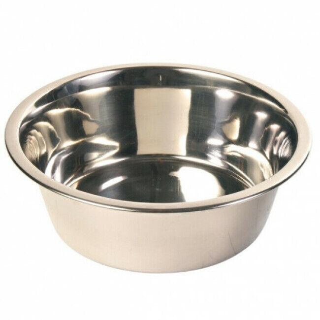 Trixie Ecuelle pour chien adaptée au bar Trixie inox Contenance 1,8 litres Diamètre 20 cm