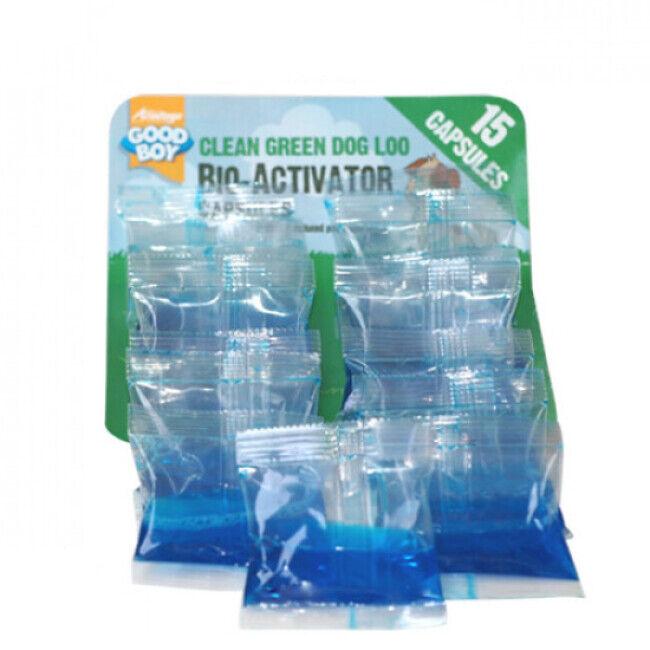 P2D ® Bio Activator sachet de 15 doses de 10 ml pour fosse Septidog ™ Good Boy pour déjection animalière