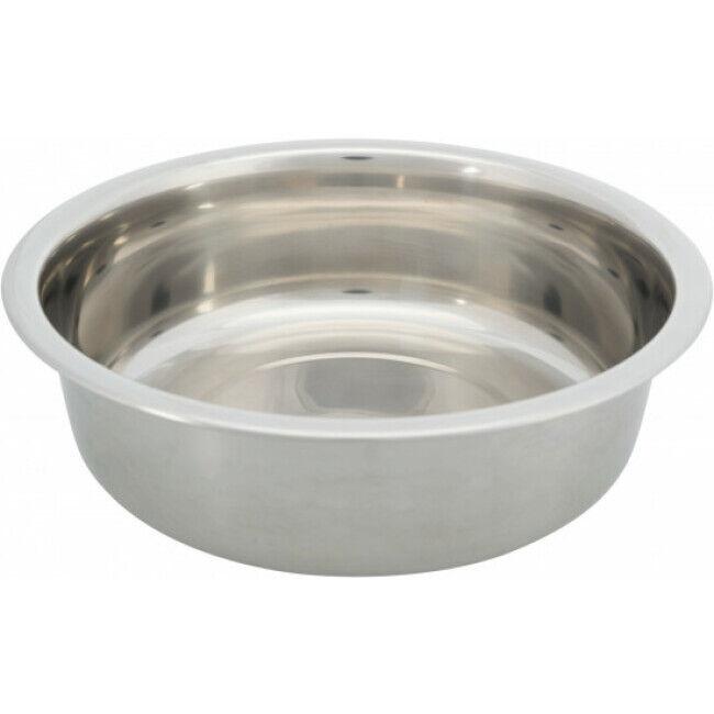 Trixie Gamelle en acier inoxydable pour chien Trixie - 1,6 Litres / ø 21 cm