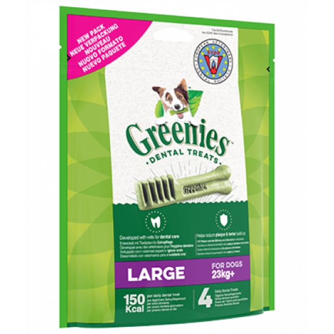 Greenies os à mâcher pour chien 23 kg et plus - 4 os (sachet de 170 g ) (DLUO 3 mois)