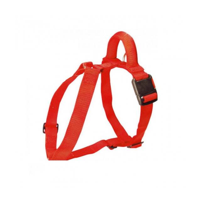 difac harnais de travail confort pour chien t2 rouge