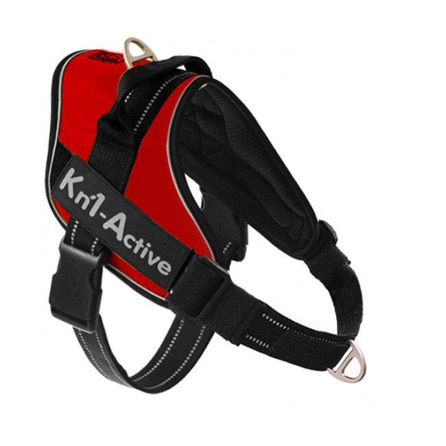 kn'1® harnais d'éducation multisport kn'1 active speed-control pour chien t4 rouge