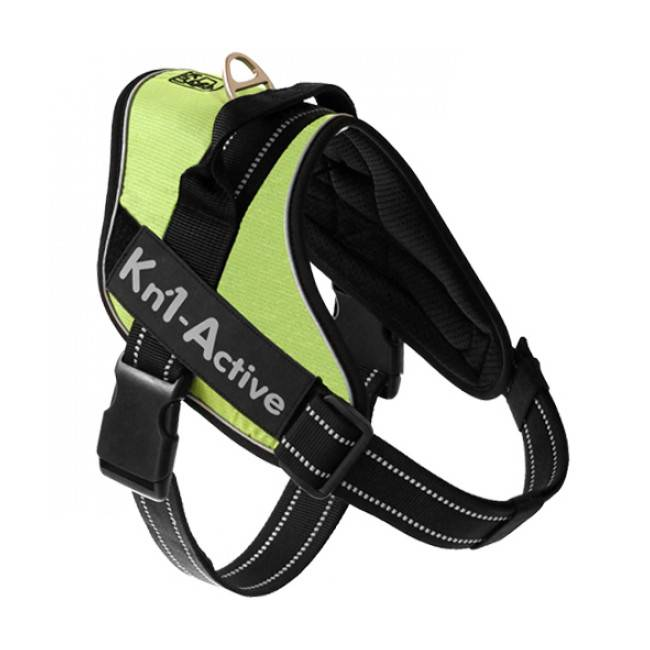 kn'1® harnais kn'1 active speed pour chien sportif t3 vert