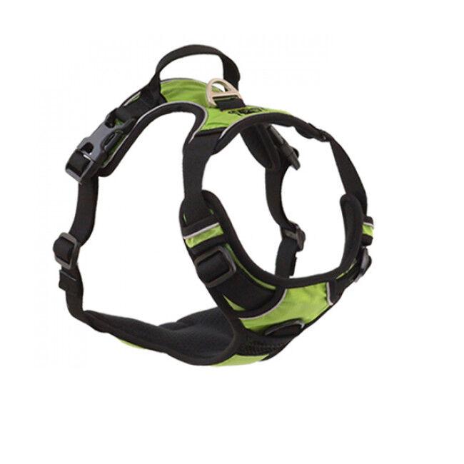 kn'1® harnais multifonction kn'1 active drive pour chien t1 vert